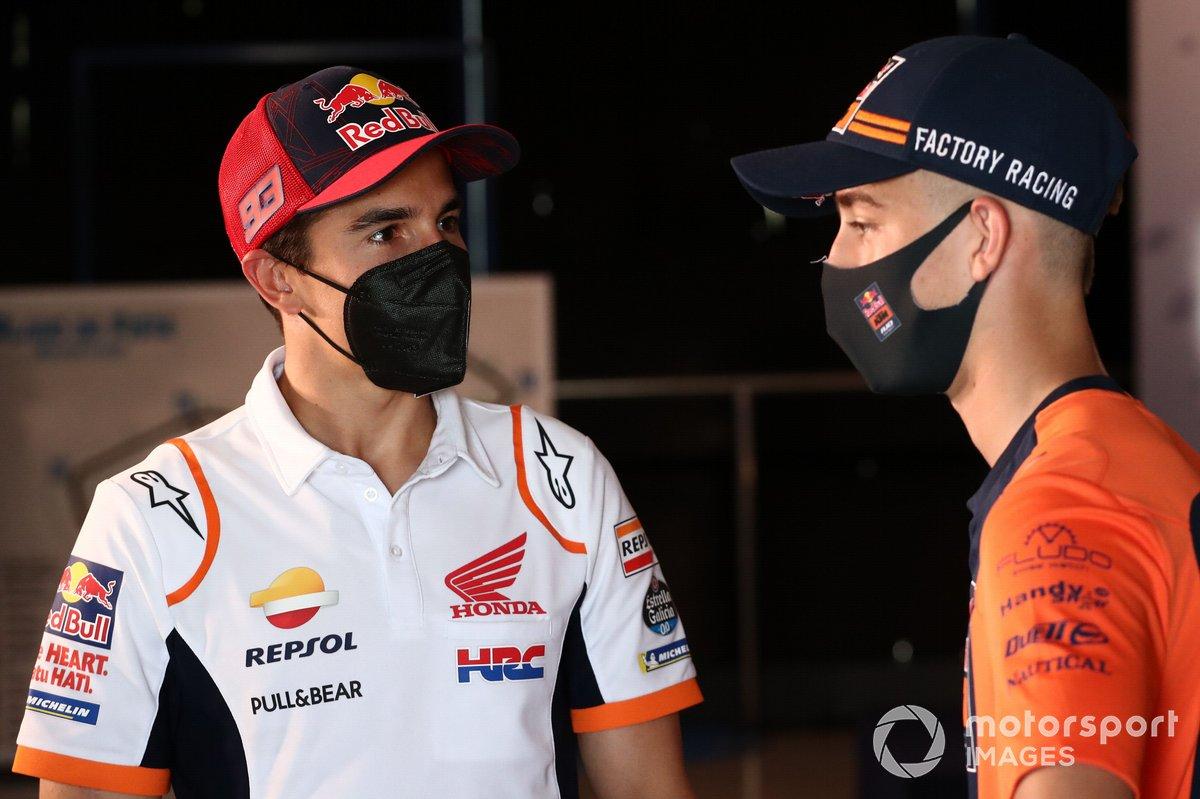 Marc Márquez, Repsol Honda Team, Pedro Acosta, Red Bull KTM Ajo