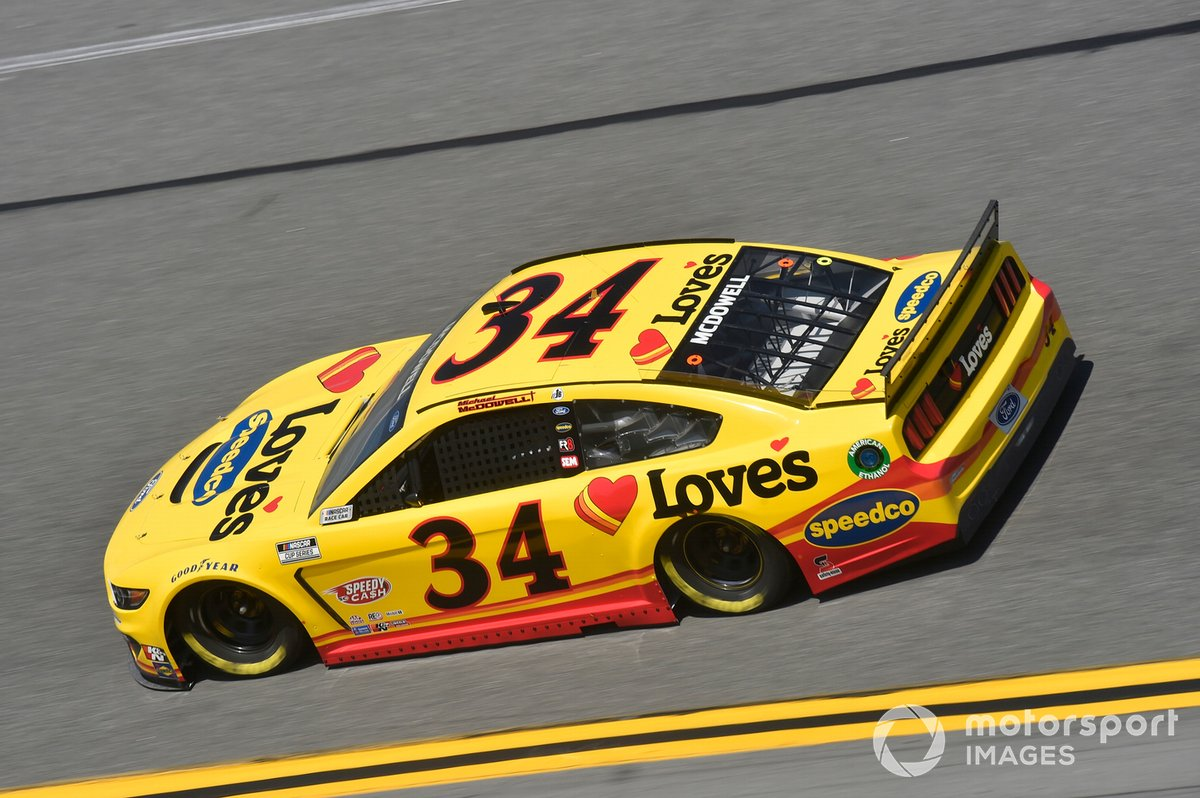 #34: Michael McDowell, Front Row Motorsports, Ford Mustang