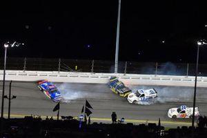 Todd Gilliland, Front Row Motorsports, Ford F-150 Speedco, Stewart Friesen, Halmar Friesen Racing, Toyota Tundra Halmar International