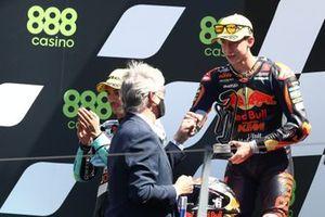 Race winner Pedro Acosta, Red Bull KTM Ajo