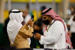 Personalidades en la parrilla de Bahrein