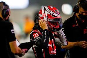 Kevin Magnussen, Haas F1, sur la grille