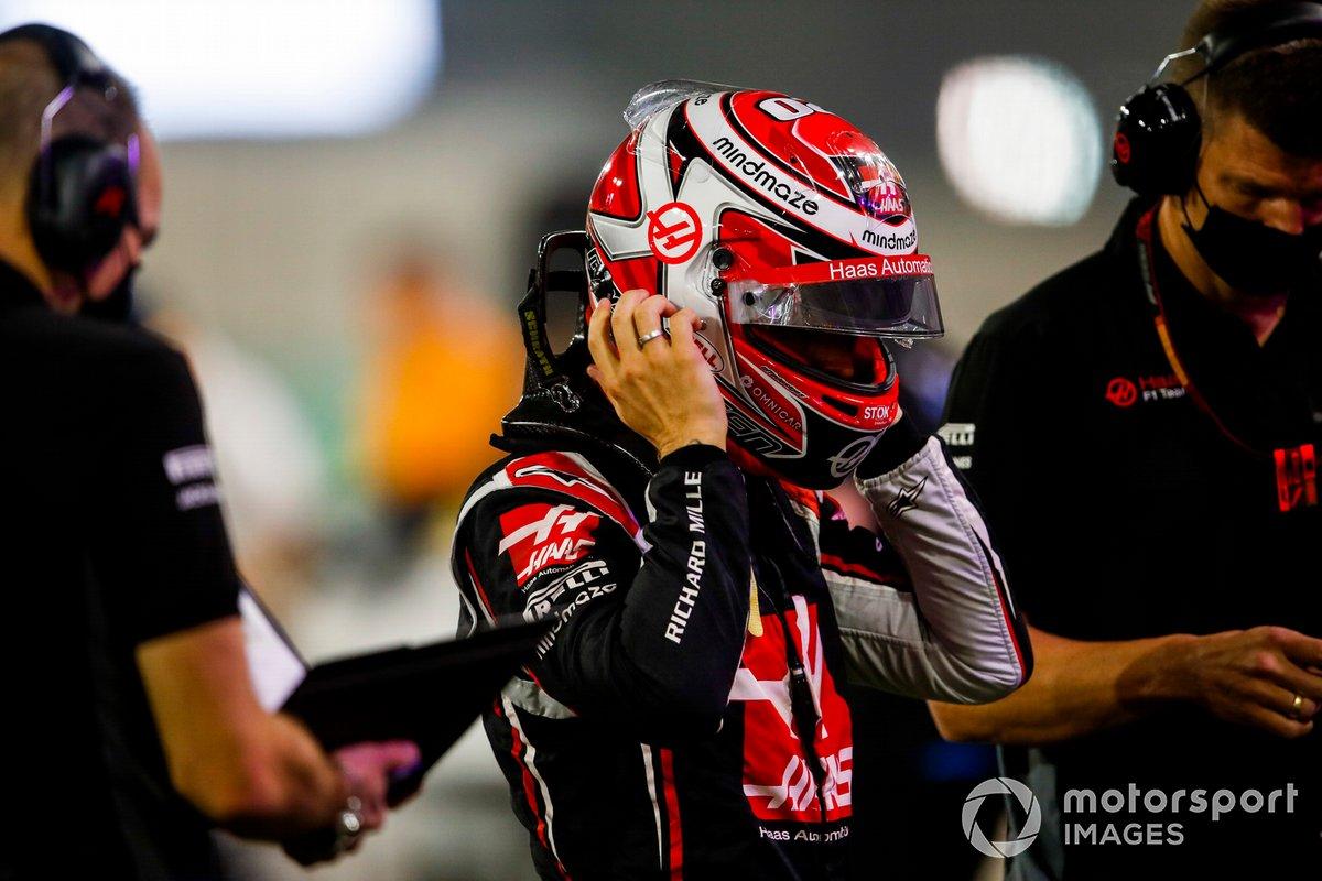 Kevin Magnussen, Haas F1, sulla griglia