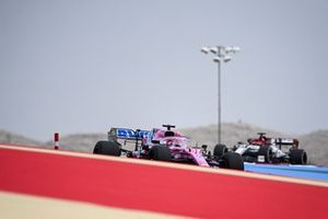 Sergio Perez, Racing Point RP20, Robert Kubica, Alfa Romeo Racing C39