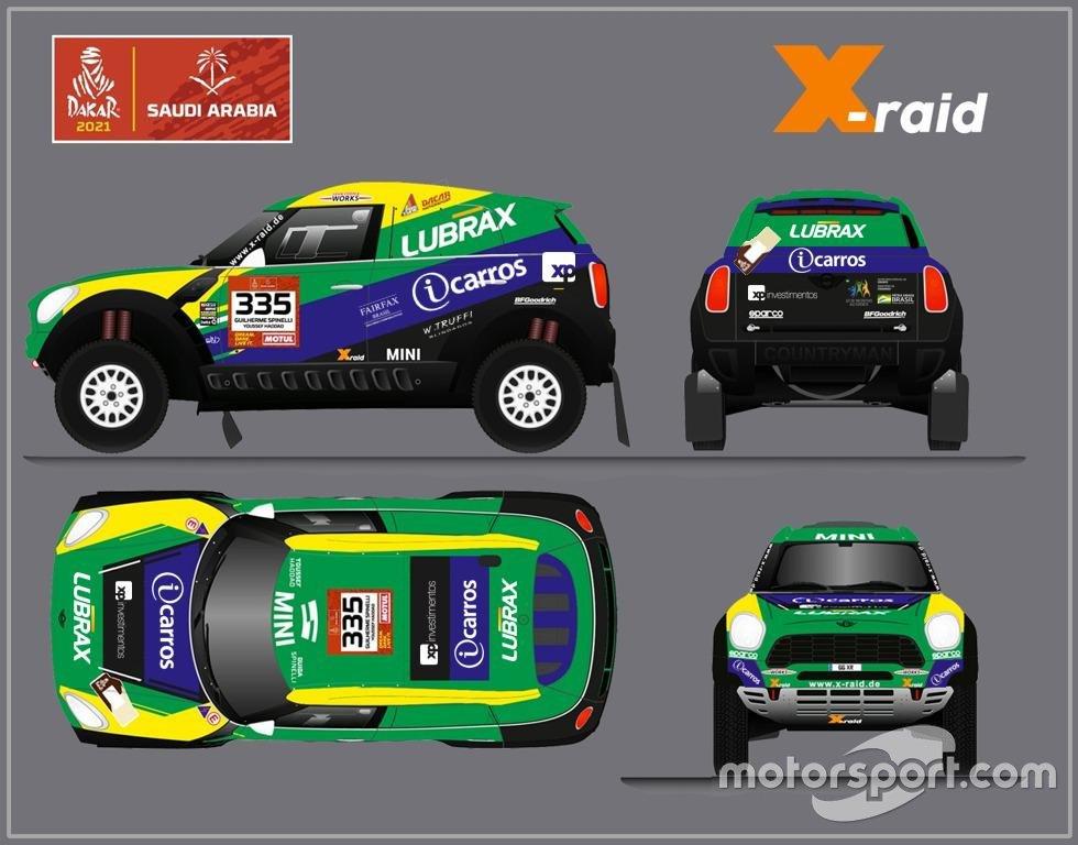 Spinelli e Haddad disputarão Dakar 2021