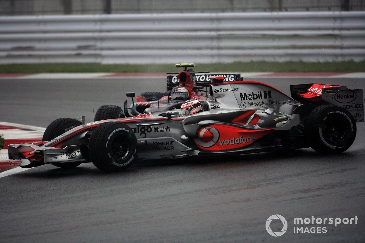 Vettel, en el GP de Brasil 2008 de F1