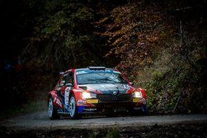 Andreas Mikkelsen, Ola Fløene, Skoda Fabia Rally2 evo