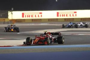 Carlos Sainz Jr., Ferrari SF21, Sergio Perez, Red Bull Racing RB16B