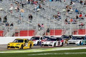 Martin Truex Jr., Joe Gibbs Racing, Toyota Supra STANLEY, Harrison Burton, Joe Gibbs Racing, Toyota Supra DEX Imaging