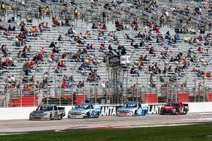 Ben Rhodes, ThorSport Racing, Toyota Tundra Bombardier Learjet 75, Brett Moffitt, Niece Motorsports, Chevrolet Silverado