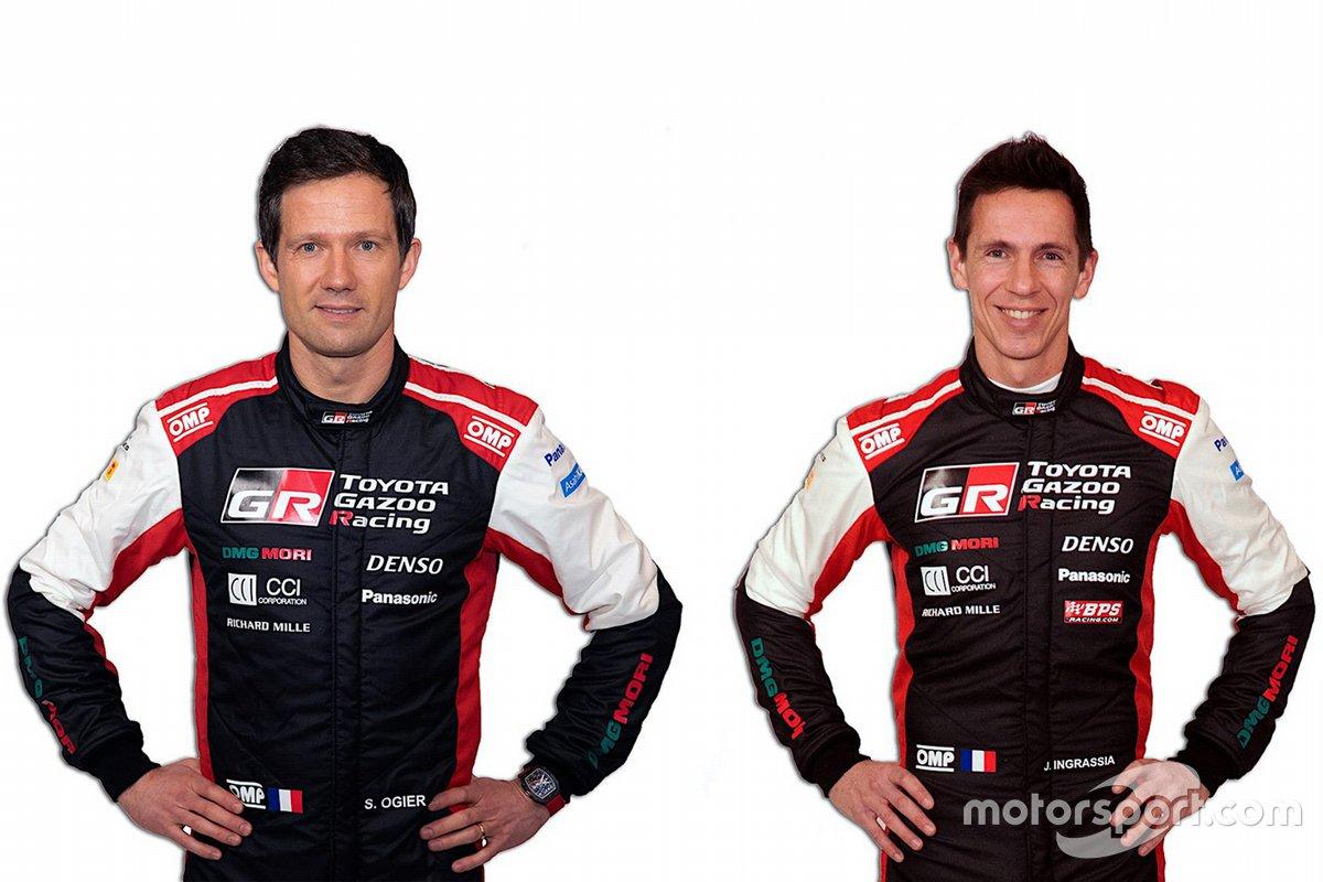 Toyota Gazoo Racing WRT. Экипаж № 1: Ожье – Инграссиа