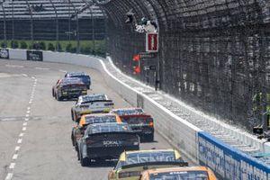Race winner Josh Berry, JR Motorsports, Chevrolet Camaro Chevrolet Accessories