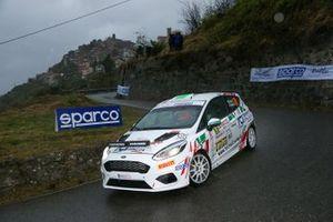 Roberto Daprà, Fabio Andrian, Ford Fiesta Rally4 #89
