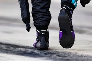 The boots of Lewis Hamilton, Mercedes-AMG F1