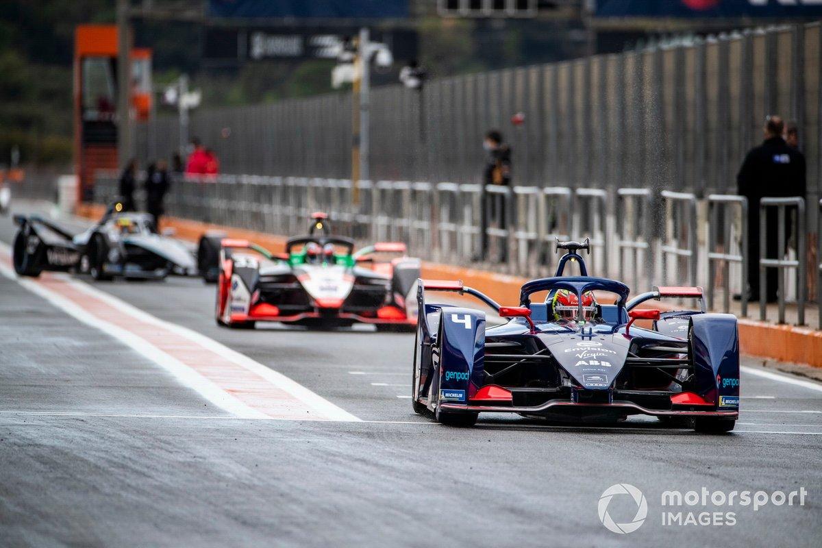Robin Frijns, Envision Virgin Racing, Audi e-tron FE07, Rene Rast, Audi Sport ABT Schaeffler, Audi e-tron FE07