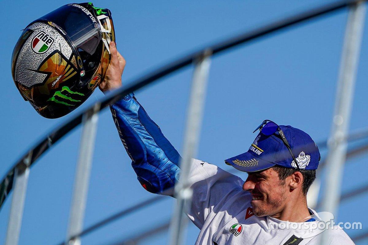 Il casco celebrativo di Joan Mir, Team Suzuki MotoGP