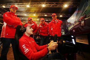 Ferrari Programme GT drivers: Sam Bird, Davide Rigon, Giancarlo Fisichella and Andrea Bertolini
