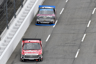 Kyle Benjamin, DGR-Crosley, Toyota Tundra CROSLEY BRANDS / DGR CROSLEY, Justin Haley, GMS Racing, Chevrolet Silverado Fraternal Order Of Eagles