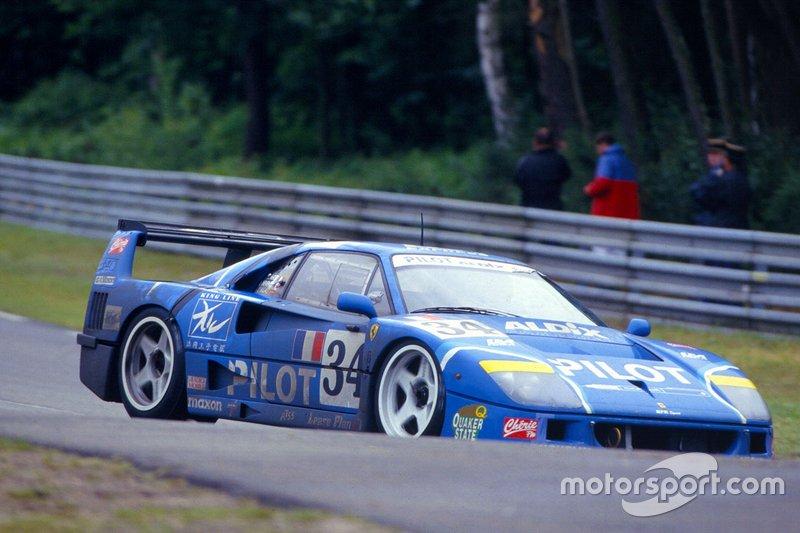 Michel Ferte, Olivier Thevenin, Carlos Palau, Ferrari F40 LM