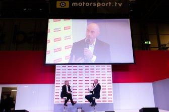 David Brabham talks to Alan Hyde on the Autosport Stage