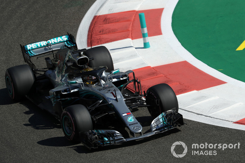 4. Lewis Hamilton, Mercedes-AMG F1 W09