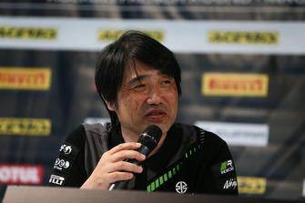 Yoshimoto Matsuda, jefe de proyecto principal del Kawasaki ZX10R