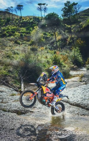 #1 Red Bull KTM Factory Racing: Matthias Walkner