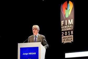 Jorge Viegas, Presidente FIM