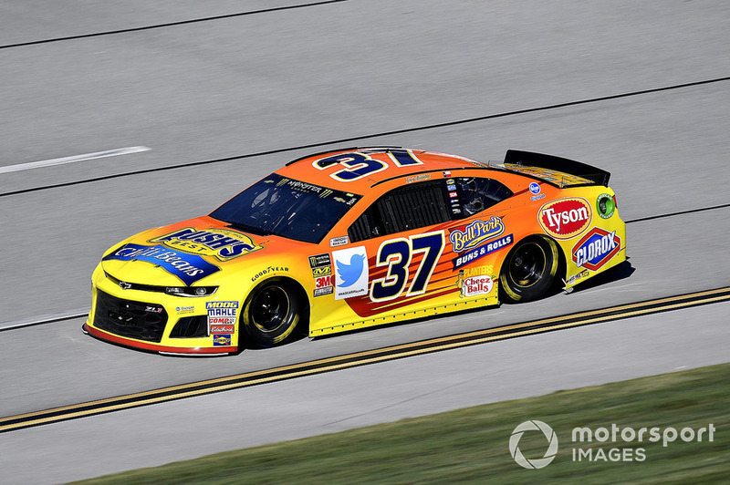 26. Chris Buescher, JTG Daugherty Racing, Chevrolet Camaro Bush's Chili Beans