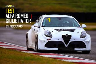 Cover Test Alfa Romeo Giulietta TCR