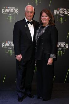 Roger Penske, Team Penske con la moglie Kathy