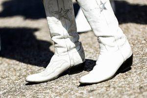 Gli stivali di una Cheerleader dei Dallas Cowboys