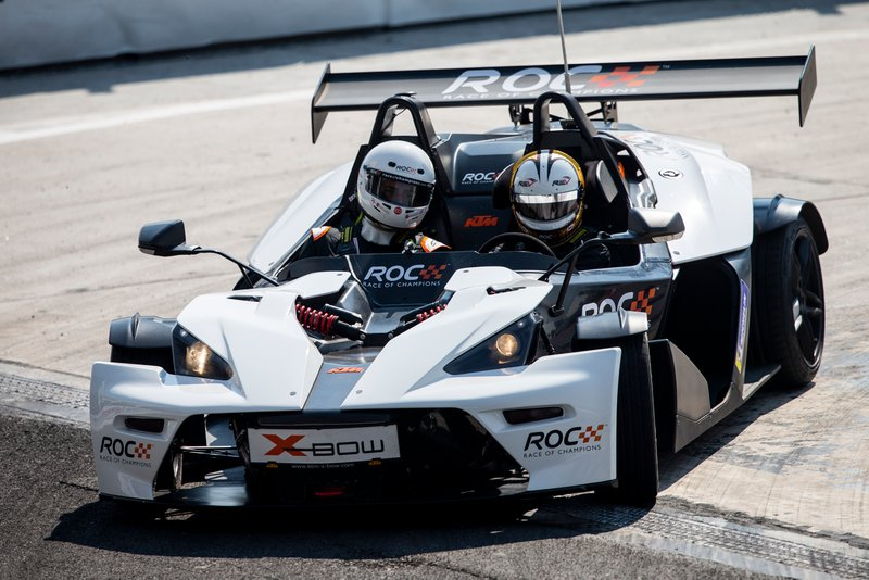 Helio Castroneves, KTM X-Bow Comp R