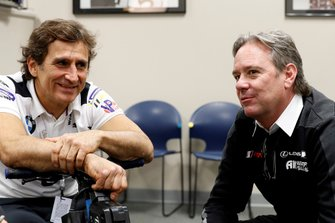 Alex Zanardi y Jimmy Vasser