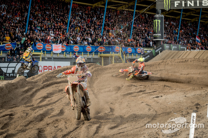 Jeffrey Herlings en Antonio Cairoli, KTM MXGP