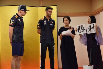 Daniel Ricciardo, Max Verstappen, Red Bull Racing