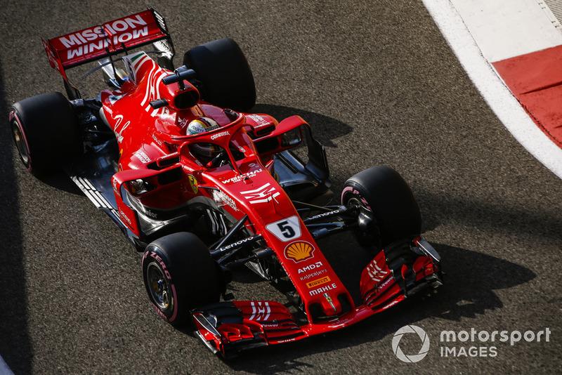 3: Sebastian Vettel, Ferrari SF71H, 1'35.125