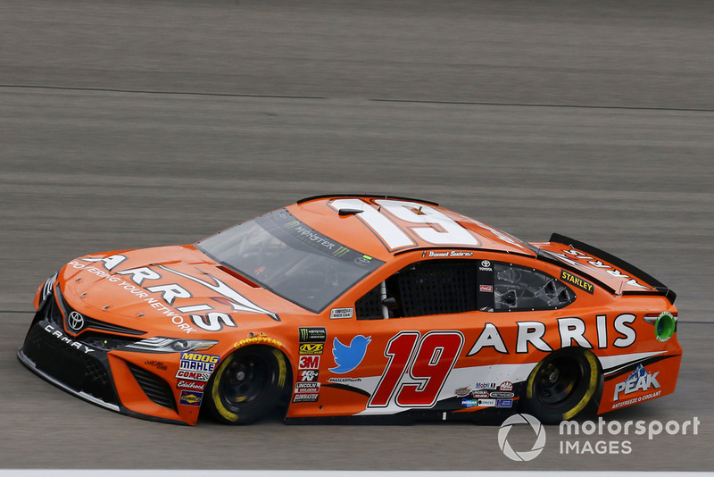 8. Daniel Suarez, Joe Gibbs Racing, Toyota Camry ARRIS