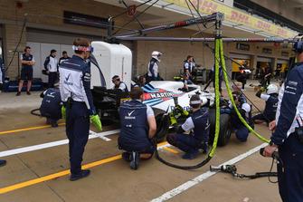 Williams Racing práctica de parada en boxes