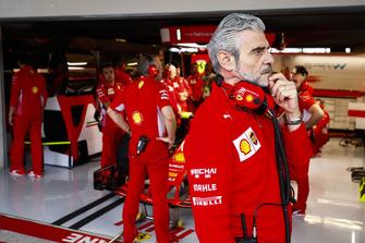 Maurizio Arrivabene, szef zespołu, Ferrari