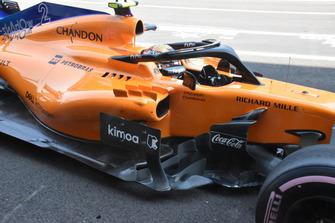 McLaren MCL33 detalle lateral