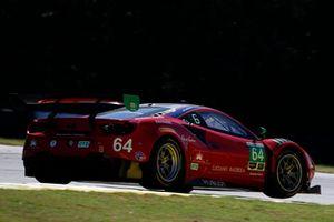 #64 Scuderia Corsa Ferrari 488 GT3, GTD: Frank Montecalvo, Townsend Bell, Bill Sweedler
