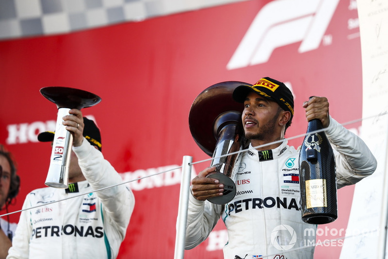 Valtteri Bottas, Mercedes AMG F1, Lewis Hamilton, Mercedes AMG F1.
