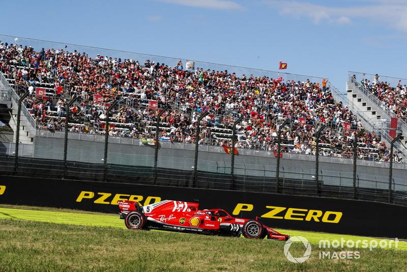 Vettel explica su arriesgado movimiento