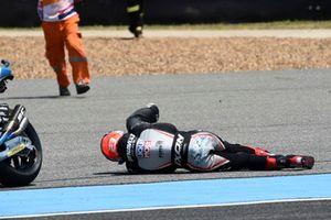 Crash Marcel Schrotter, Dynavolt Intact GP