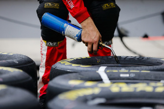 Christopher Bell, Joe Gibbs Racing, Toyota Camry Rheem crew member