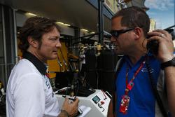 Marco Codello speaks to Carlin GP2 team manager, Benn Huntingford