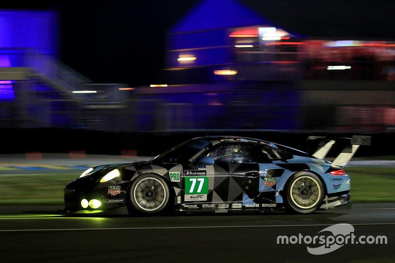 45: #77 Dempsey Proton Competition Porsche 911 RSR: Richard Lietz, Michael Christensen, Philipp Eng