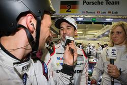#2 Porsche Team Porsche 919 Hybrid: interview for pole winner Neel Jani
