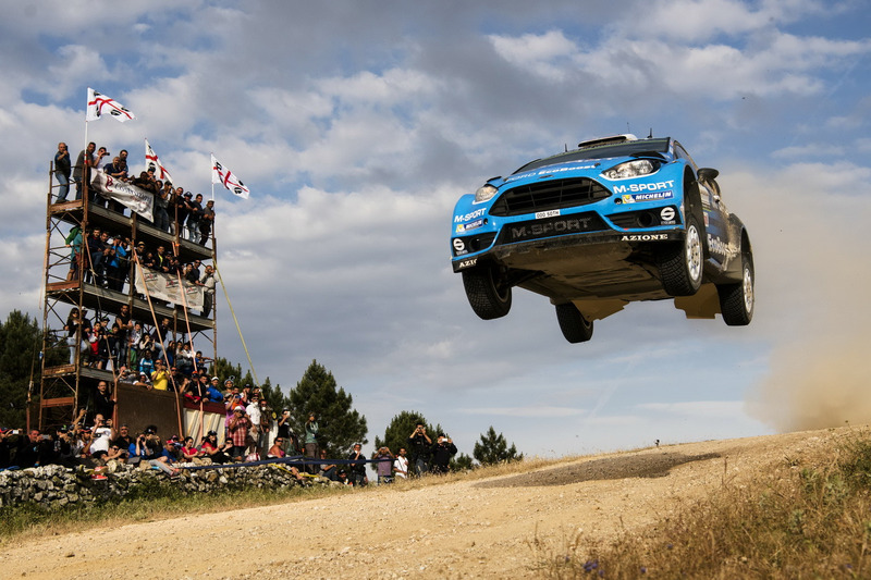 Мадс Остберг, Ола Фльоне, M-Sport Ford Fiesta WRC